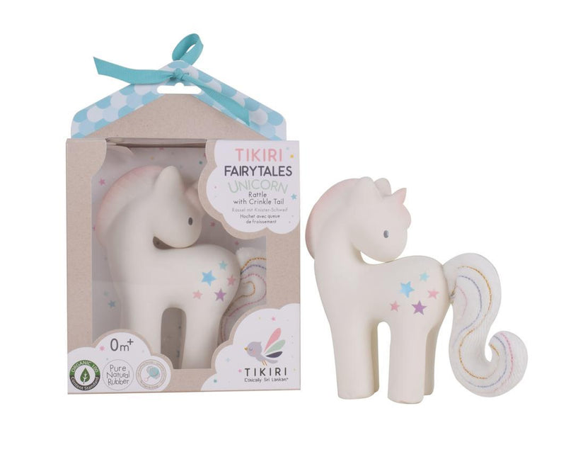 Organic Unicorn Rattle - Parnell Baby Boutique