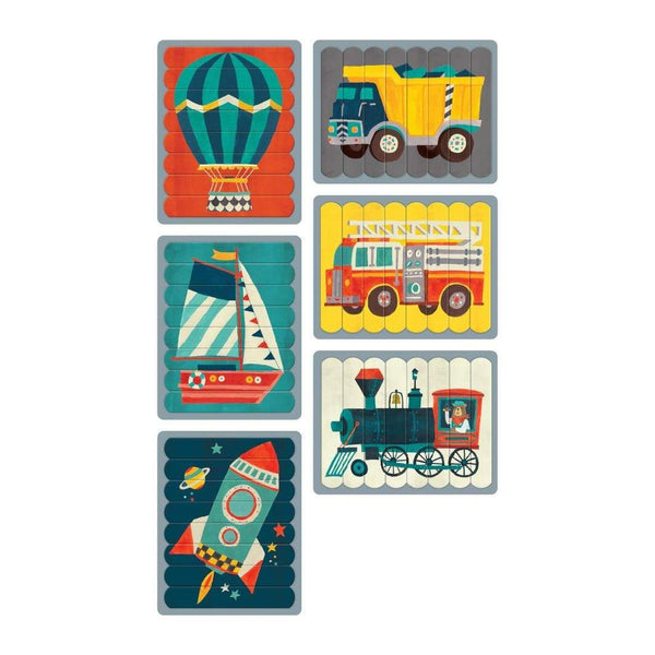 Transportation Puzzle Sticks - Parnell Baby Boutique
