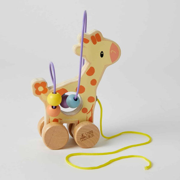 Giraffe Rolling Bead Coaster - Parnell Baby Boutique