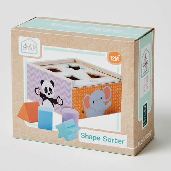 Shape Sorter - Parnell Baby Boutique