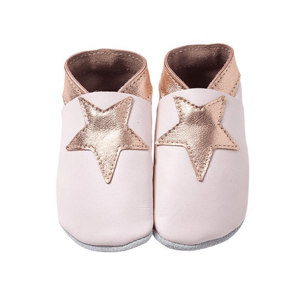Genuine Leather NZ Made Baby Shoes - Non Slip Sole - Parnell Baby Boutique