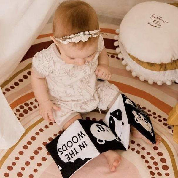 Babys First Luxe Soft Book - Parnell Baby Boutique
