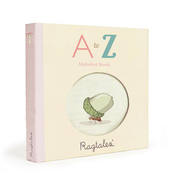 Rag Books Alphabet ABC - Parnell Baby Boutique