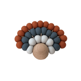 Peacock Teether - Parnell Baby Boutique