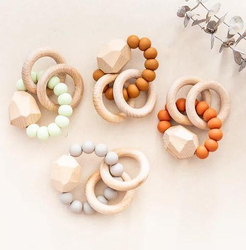 Rainbow Child Rubi Teether - Parnell Baby Boutique