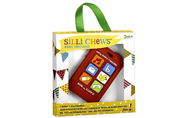 Silli Chews Phone Teether - Parnell Baby Boutique