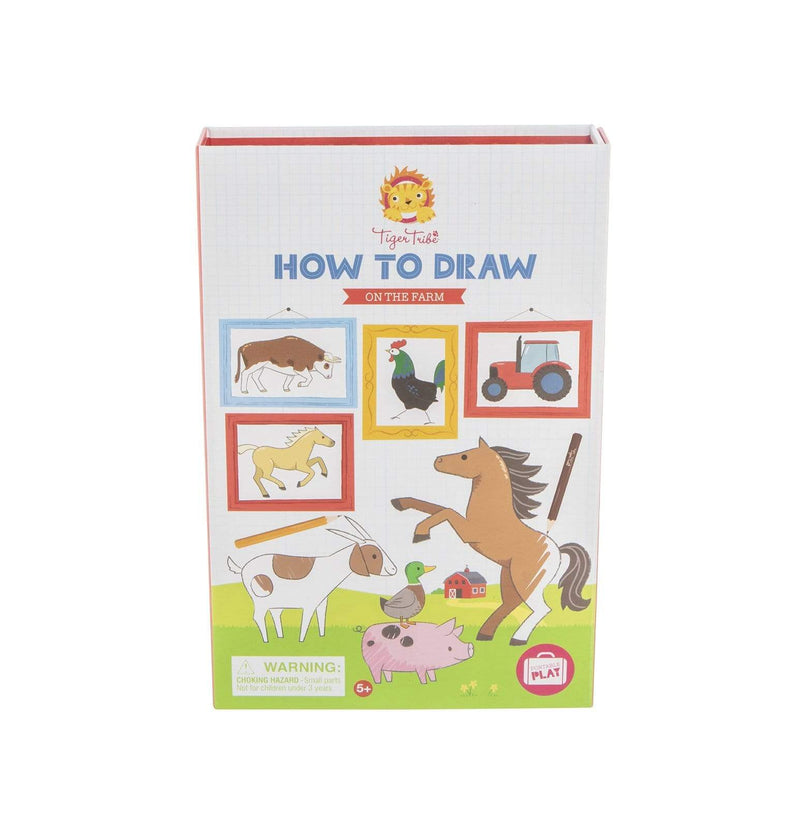 How to Draw on the Farm - Parnell Baby Boutique