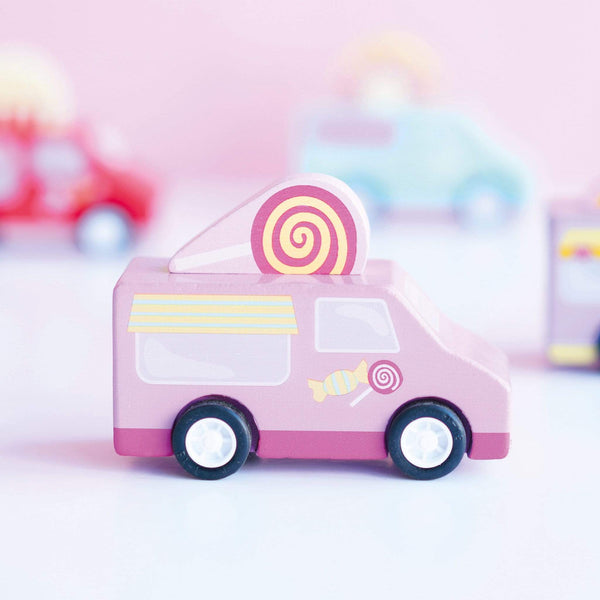Sweets & Treats Pull Back Van - Parnell Baby Boutique