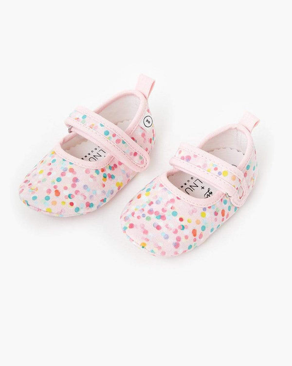 Poppies Baby Mary Jane Canvas Shoe - Parnell Baby Boutique