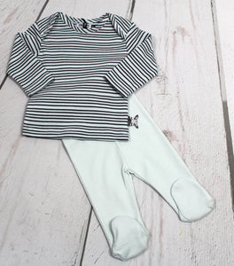 2pc LS T w Footy pant