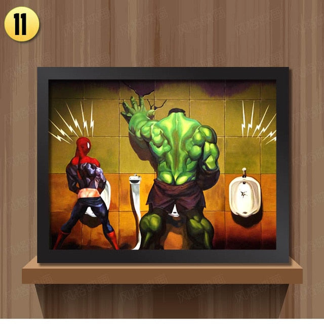 The Hulk Surprise Superheroes Canvas Prints - https://www.sugarcoateddecor.com/