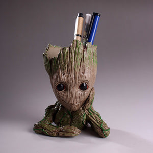 Baby Groot for Desk & Flower Pot - Guardians of The Galaxy - https://www.sugarcoateddecor.com/