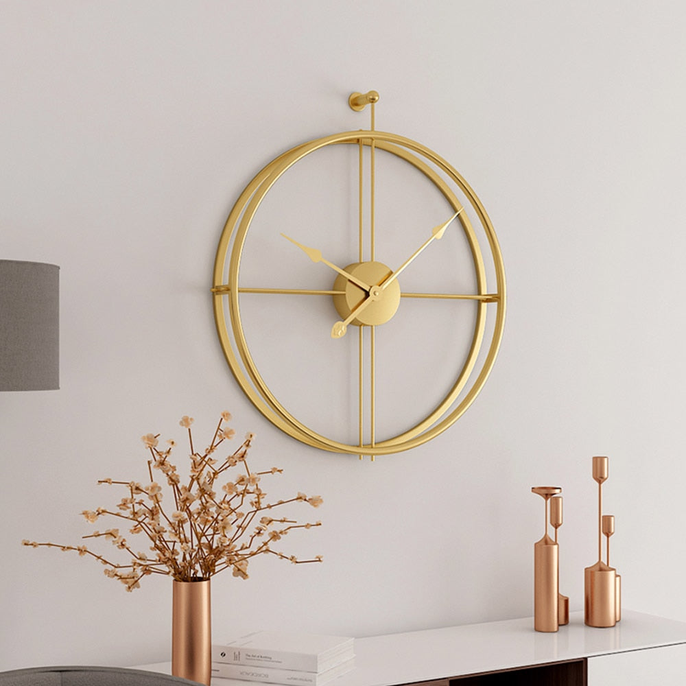 Silent Movement Modern Wall Clock - https://www.sugarcoateddecor.com/