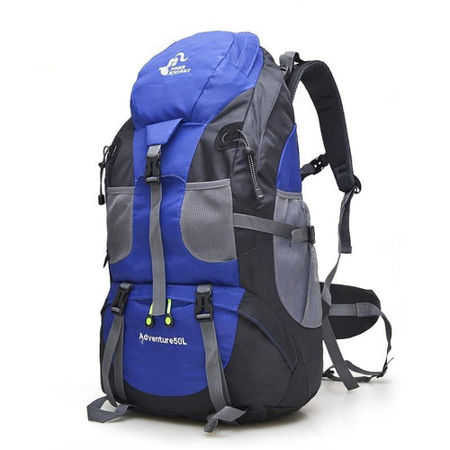 50L Outdoor Hiking Bag Travel Backpack  Mountaineering Trekking Camping Climbing Sport Bags Rucksack