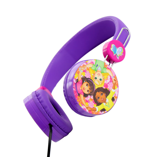 Dora and Friends Kids Over The Ear Headphones - Bent Buys