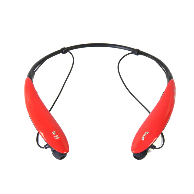 Bluetooth® Wireless Headphones and Mic-red - Bent Buys
