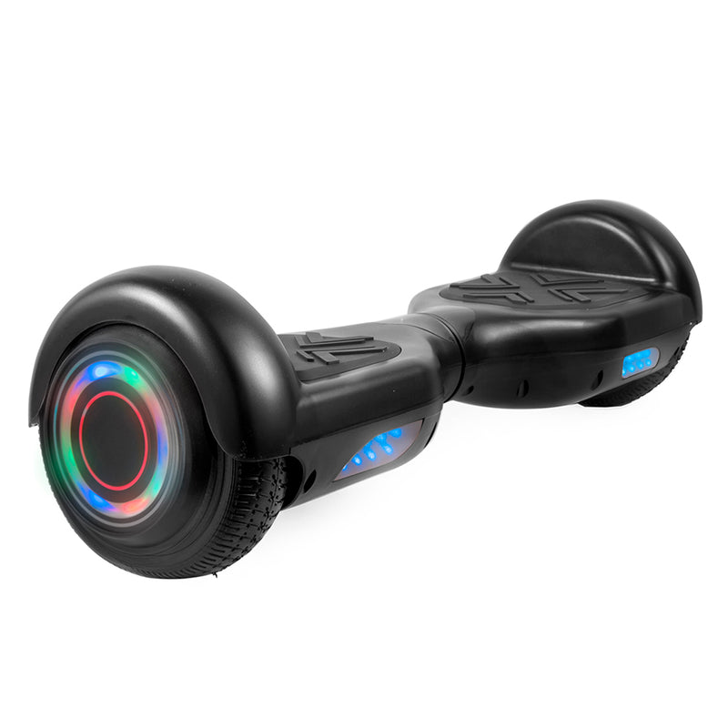 Hoverboard in Black with Bluetooth Speakers - Bent Buys
