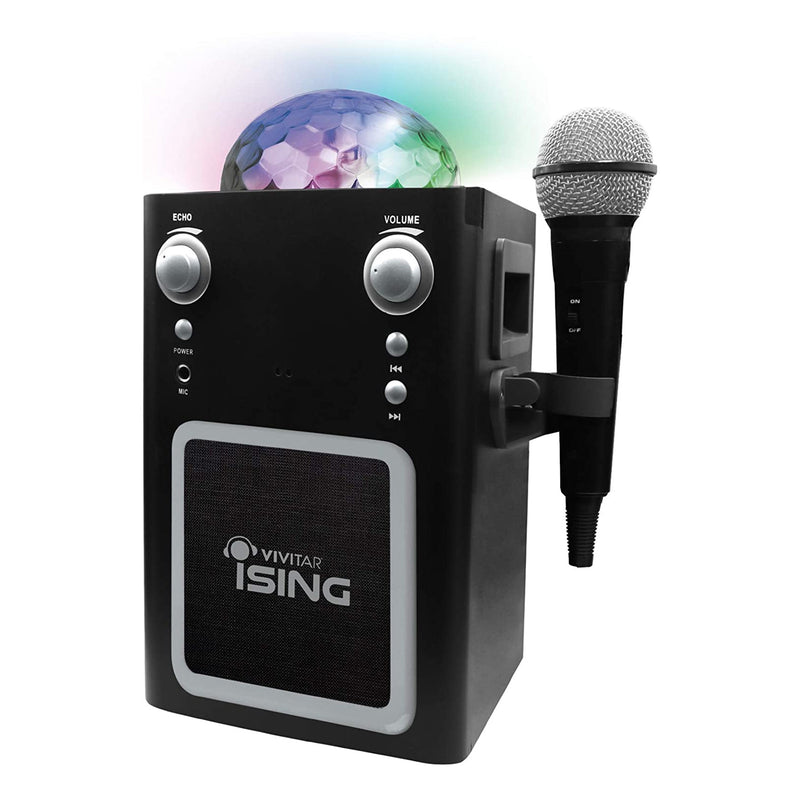 Vvitar iSING Bluetooth Disco Ball Karaoke With Mic - Bent Buys