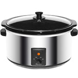 Brentwood 8.0 Quart Slow Cooker Stainless Steel - Bent Buys