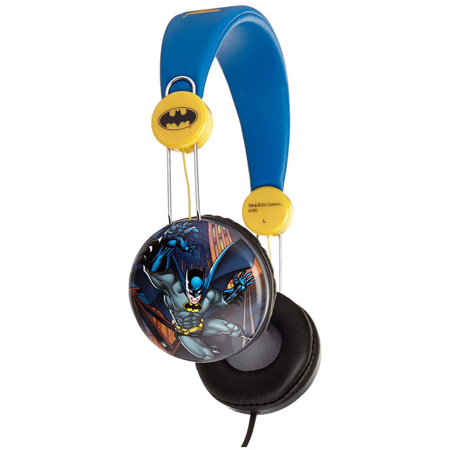 Batman Kids Over The Ear Headphones - Bent Buys