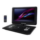 Trexonic 14.1 Inch Portable DVD Player with Swivel TFT-LCD Screen and USB,SD,AV Inputs - Bent Buys
