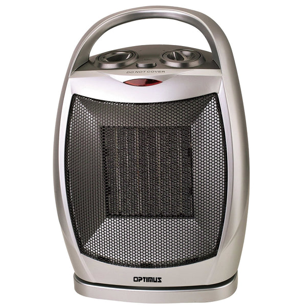 Optimus Portable Oscillating Ceramic Heater with Thermostat - Bent Buys