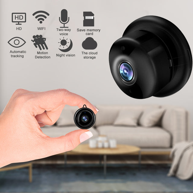 Wireless Mini IP Camera 1080P HD IR CCTV Infrared Night Vision Micro Camera Home Security surveillance WiFi Baby Monitor Camera - Bent Buys