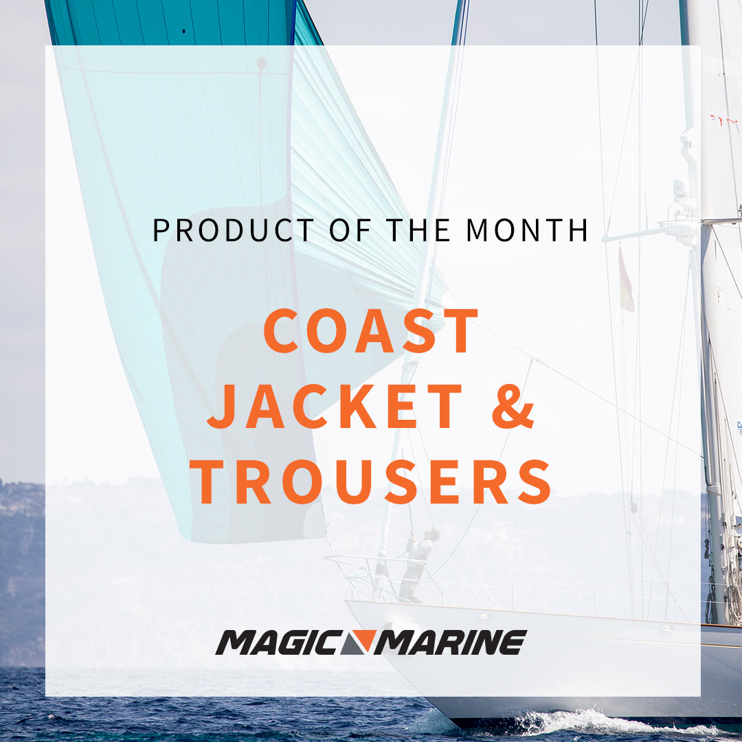 Magic Marine March Product of the Month - Coast jacket and salopettes