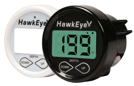 HawkEye DepthTrax 1B dash mounted depth sounder - Dinghy Shack