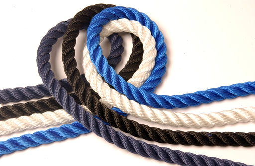 Kingfisher 3-strand multi-filament polypropylene rope - Dinghy Shack