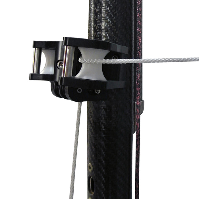 Self-launching twin spinnaker pole system with sheaved ends - Version 2 complete upgrade kit