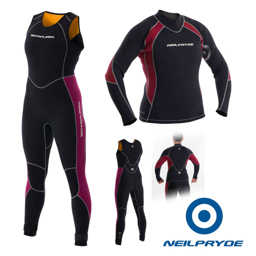 Neil Pryde Women's Elite Firewire 3mm Full suit long john and top - Dinghy Shack