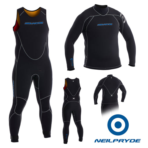 Junior Elite Firewire 3mm Full suit long john and top
