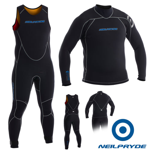 Men's Elite Firewire 3mm Full suit long john and top
