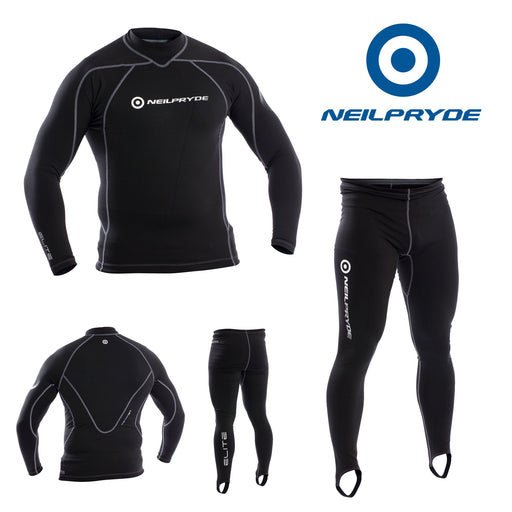 Neil Pryde Elite Thermalite top and bottom full thermal suit - Dinghy Shack