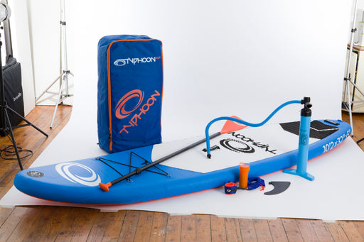 Typhoon SUP - inflatable stand-up paddleboard - Dinghy Shack