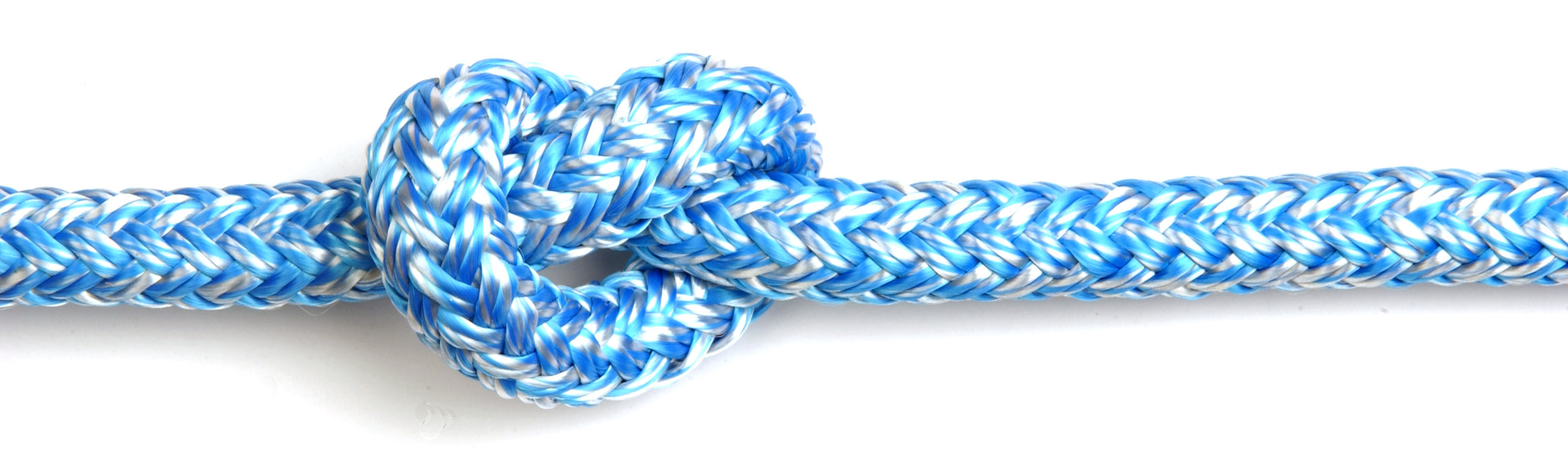 Kingfisher Braid-on-braid polyester melanges rope - Dinghy Shack