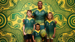 Wallabies Indiegnous jersey Free The Flag Clothing Teh Gap