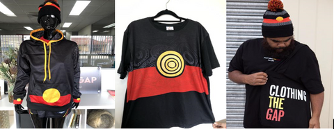 Illegal Clothing The Gap Aboriginal Flag products