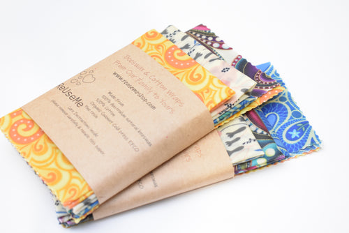Beeswax Wraps 12 Pack
