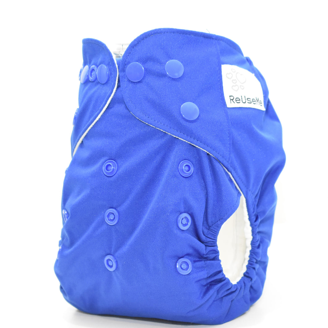Royal Blue Cloth Nappy