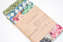 Load image into Gallery viewer, Beeswax Wraps 12 Pack