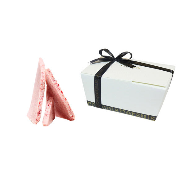 Raspberry Blackberry White  Chocolate - Laderach Swiss Chococlates