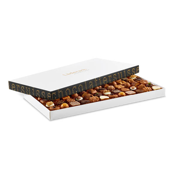 Laderach 72 Pcs Praline Box - Laderach Swiss Chococlates