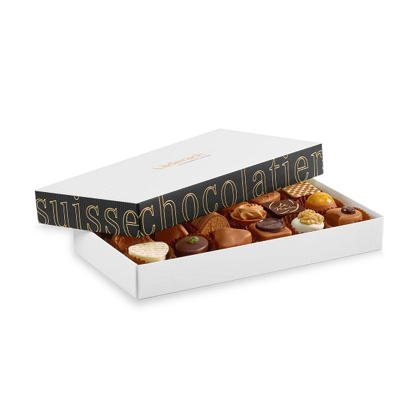 Laderach 18 Pcs Praline Box - Laderach Swiss Chococlates