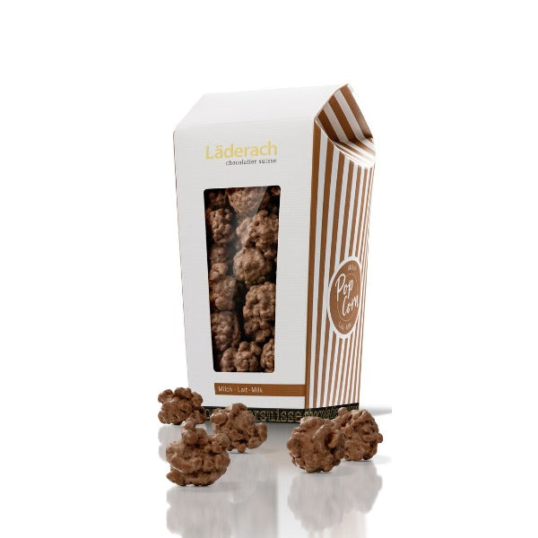 Popcorn Chocolate - Laderach Swiss Chococlates