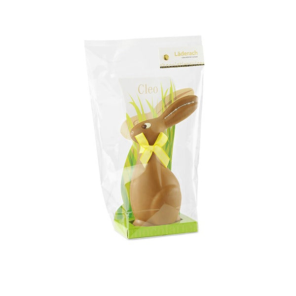 Easter Bunny Cleo Milk 17 cm - Laderach Swiss Chococlates