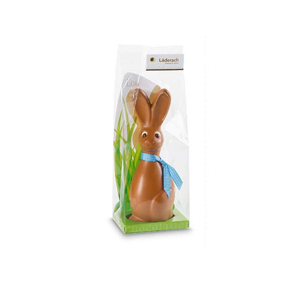 Easter Bunny Luo Milk 22cm - Laderach Swiss Chococlates