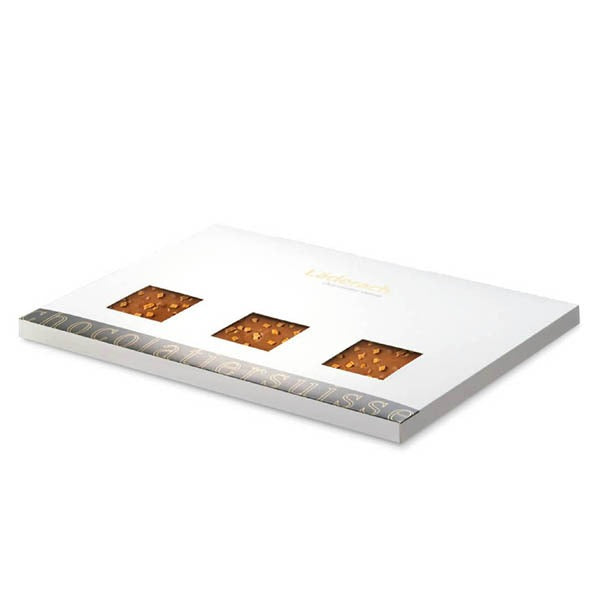 Hazelnut Milk Full Slab - Laderach Swiss Chococlates