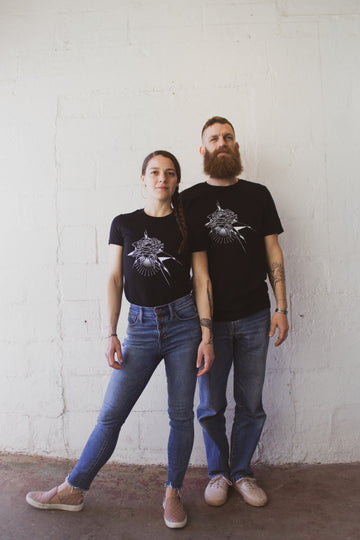 New T-shirts with original art by Codak Smith